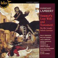 CDH55388 - Lambert: Summer's Last Will and Testament, The Rio Grande & Aubade h�ro�que