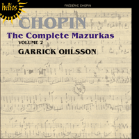 Cover of CDH55392 - Chopin: The Complete Mazurkas, Vol. 2