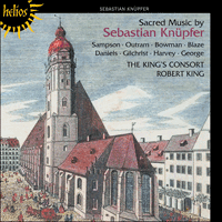 Cover of CDH55393 - Kn�pfer: Sacred Music