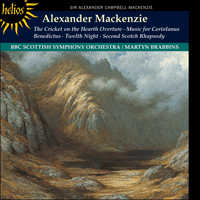 Cover of CDH55395 - Mackenzie: Orchestral Music