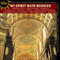 Cover of CDH55402 - My spirit hath rejoiced