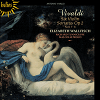 Cover of CDH55404 - Vivaldi: Six Violin Sonatas Op 2