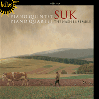 Cover of CDH55416 - Suk: Piano Quintet & Piano Quartet