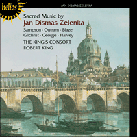 Cover of CDH55424 - Zelenka: Sacred Music