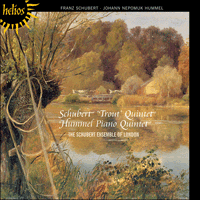 Cover of CDH55427 - Schubert & Hummel: Piano Quintets