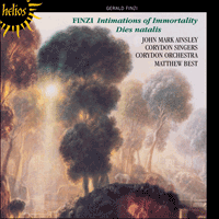 CDH55432 - Finzi: Intimations of Immortality & Dies natalis