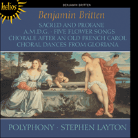 CDH55438 - Britten: Sacred and Profane & other choral works