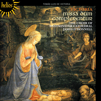 Cover of CDH55452 - Victoria: Missa Dum complerentur & other sacred music
