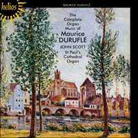 CDH55475 - Durufl�: The Complete Organ Music