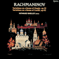Cover of CDA66009 - Rachmaninov: Variations