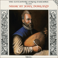 Cover of CDA66010 - Dowland: Consort Music