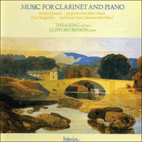 Cover of CDA66014 - Music for clarinet and piano