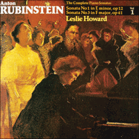 Cover of CDA66017 - Rubinstein: Piano Sonatas Nos 1 & 3