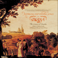 Cover of CDA66019 - Madrigals and Wedding Songs for Diana