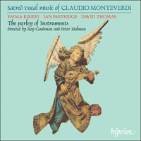 CDA66021 - Monteverdi: Sacred vocal music