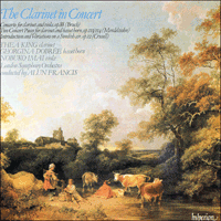 CDA66022 - The Clarinet in Concert, Vol. 1
