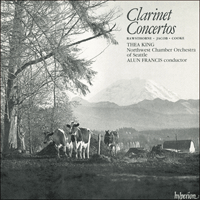 CDA66031 - Cooke, Rawsthorne & Jacob: Clarinet Concertos