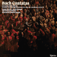 Cover of CDA66036 - Bach: Cantatas Nos 82 & 202