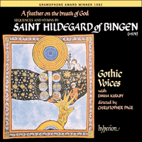 Cover of CDA66039 - Hildegard of Bingen: A feather on the breath of God