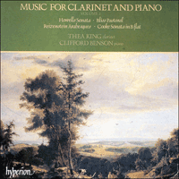 CDA66044 - Music for clarinet and piano