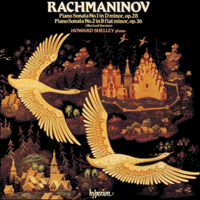 Cover of CDA66047 - Rachmaninov: Piano Sonatas