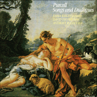 Cover of CDA66056 - Purcell: Songs and Dialogues