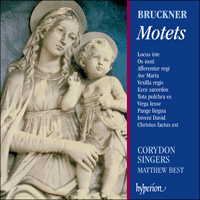 Cover of CDA66062 - Bruckner: Motets