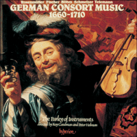 Cover of CDA66074 - German Consort Music, 1660-1710
