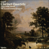 CDA66077 - Crusell: Clarinet Quartets