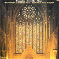 CDA66078 - Sumsion, Howells & Finzi: Choral & Organ Music