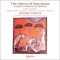 CDA66087 - Machaut: The Mirror of Narcissus
