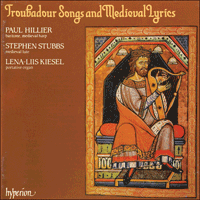 CDA66094 - Troubadour Songs & Medieval Lyrics