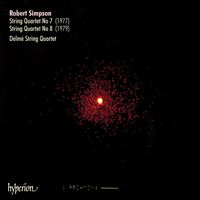 Cover of CDA66117 - Simpson: String Quartets Nos 7 & 8