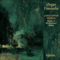 Cover of CDA66121 - Organ Fireworks, Vol. 1