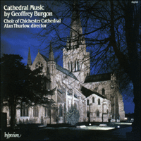 Cover of CDA66123 - Burgon: Cathedral Music