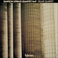 CDA66127 - Simpson: String Quartet No 9