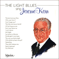 Cover of A66128 - Kern: The Light Blues sing Jerome Kern