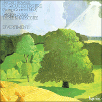 Cover of CDA66139 - Howells: In Gloucestershire; Dyson: Three Rhapsodies
