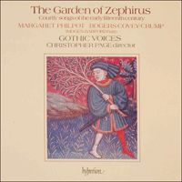 Cover of CDA66144 - The Garden of Zephirus
