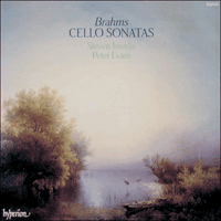 Cover of CDA66159 - Brahms: Cello Sonatas