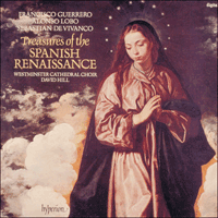 Cover of CDA66168 - Treasures of the Spanish Renaissance