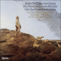 Cover of CDA66175 - Holst/Britten/Bliss: Lie Strewn The White Flocks