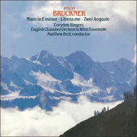 Cover of CDA66177 - Bruckner: Mass in E minor