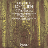 Cover of CDA66191 - Durufl�: Requiem & Quatre motets