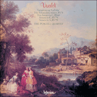 Cover of CDA66193 - Vivaldi: La Folia & other works