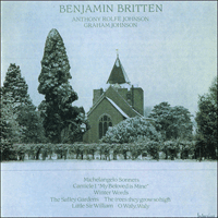 Cover of CDA66209 - Britten: Winter Words