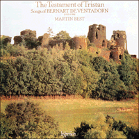 Cover of CDA66211 - Bernart De Ventadorn: The Testament of Tristan