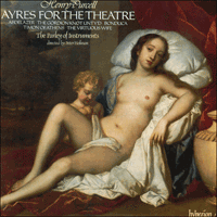 Cover of CDA66212 - Purcell: Ayres for the theatre