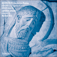 Cover of CDA66219 - Bernstein: Chichester Psalms; Copland: In the beginning; Barber: Agnus Dei