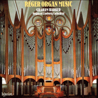 Cover of CDA66223 - Reger: Organ Music